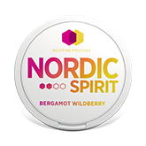 NORDIC SPIRIT BERGAMOT WILDBERRY 6MG
