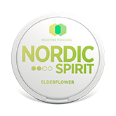 NORDIC SPIRIT ELDERFLOWER 6MG