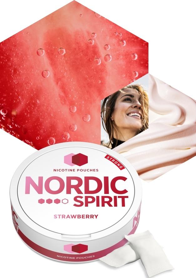 Nordic Spirit Strawberry Nicotine Pouches