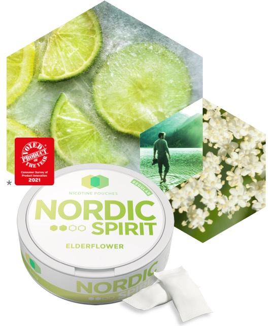 Nordic Spirit Elderflower Nicotine Pouches